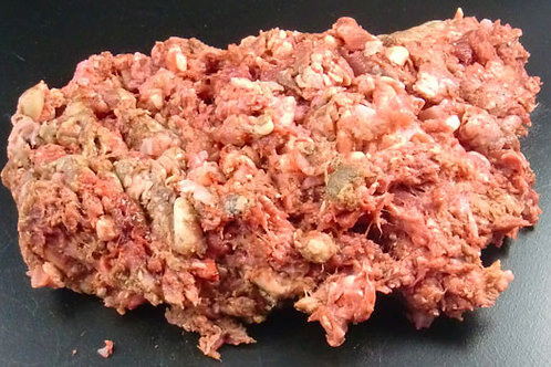 The Dogs Butcher - Duck & Tripe (approx 10% bone) 1kg