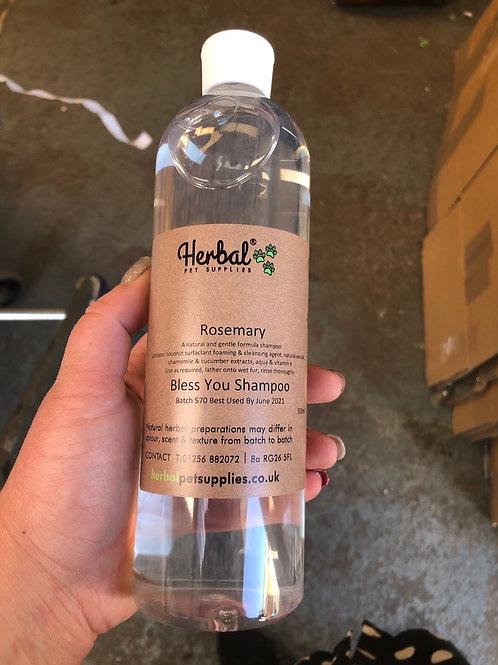 HPS rosemary shampoo