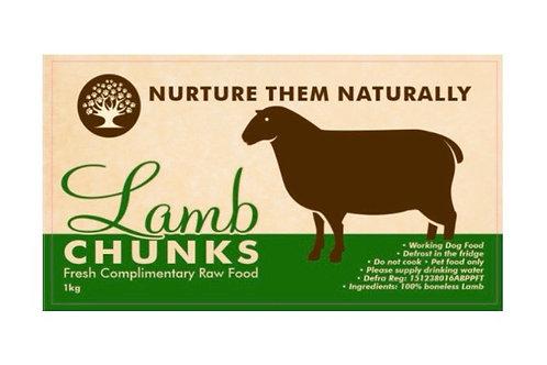 Nuture them naturally - Lamb Chunks 1kg