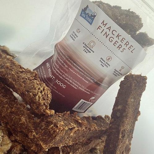 Sea Treats - Mackerel Fingers 100g