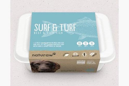 Surf & Turf – Beef & Oily Fish (500g) Naturaw