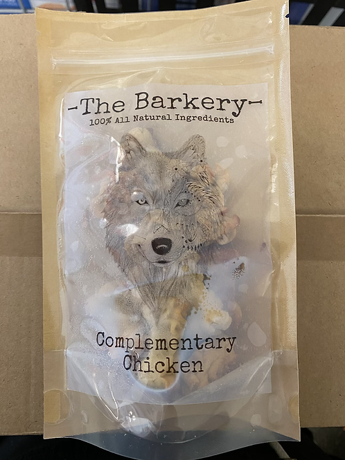 The Barkery - Complementary Chicken 100g FROZEN