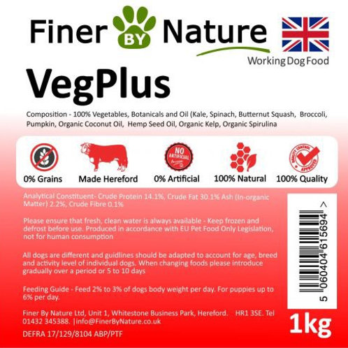 Finer by nature - Veg plus