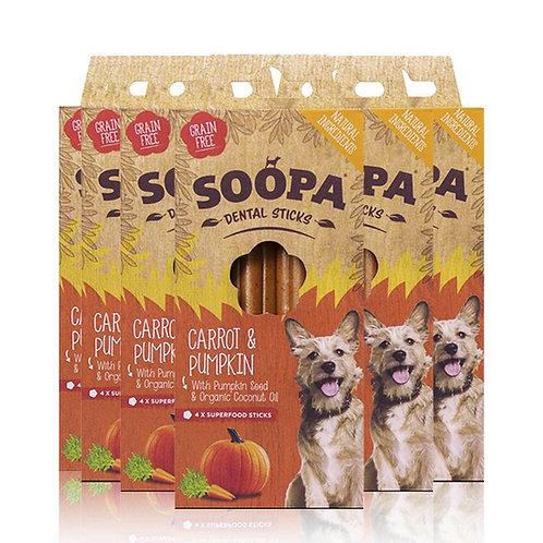 Soopa Dental Sticks Carrot and Pumpkin