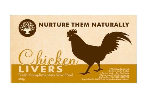 Nurture them naturally - Chicken Livers