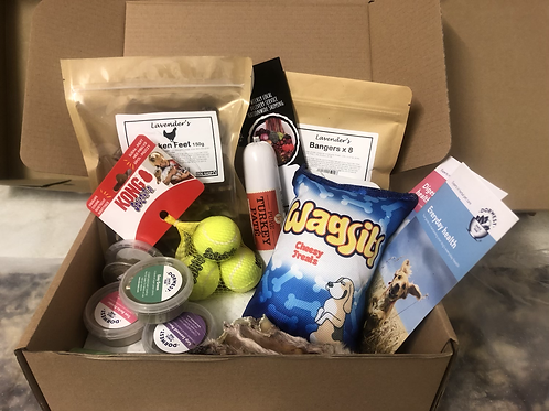 The Puppy Box, the perfect gift.