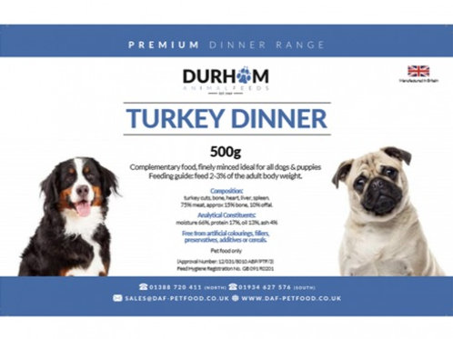 DAF Turkey Dinner 500g