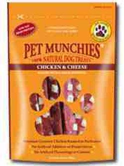 Pet munchies Chicken & Cheese 100g