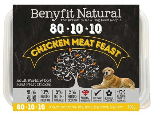 Benyfit Natural - Chicken Meat Feast 80.10.10