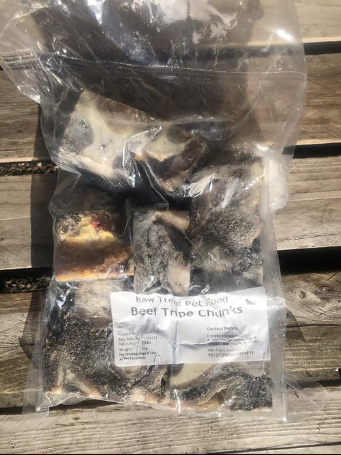Raw Treat Pet Food Tripe Chunks - 1kg
