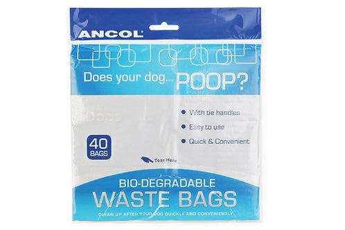 Ancol poop bags x 40