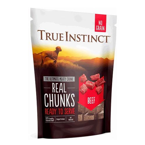 True Instinct beef chunks Freeze-dried treats 200g