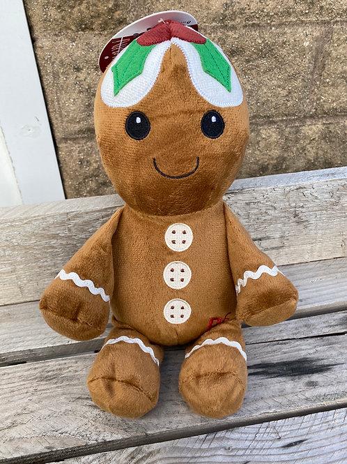 Festive Plush Gingerbread Man