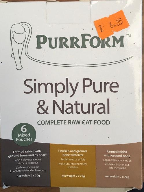 Purrform Complete Cat - Rabbit, chicken and rabbit