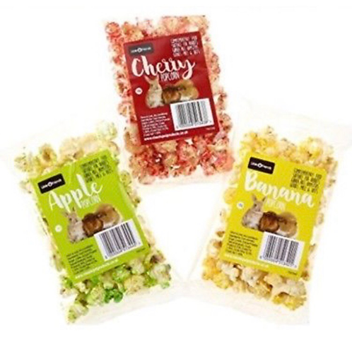 Small animal popcorn
