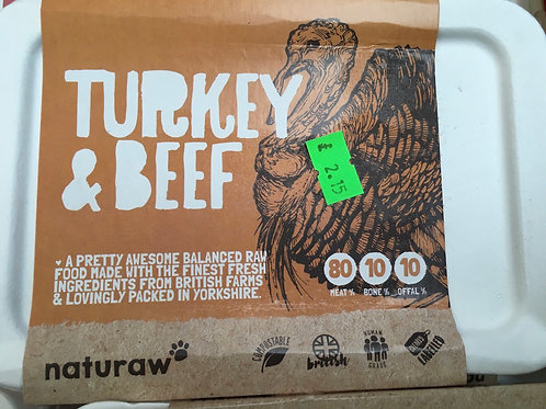Naturaw Turkey & Beef