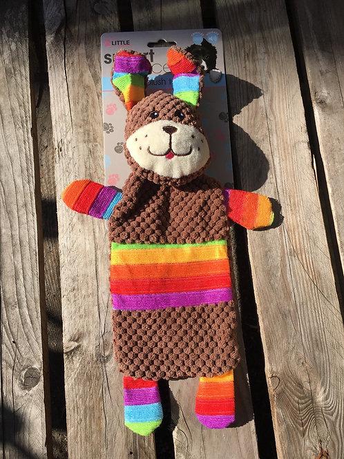 Rainbow Puppy Plush Toy