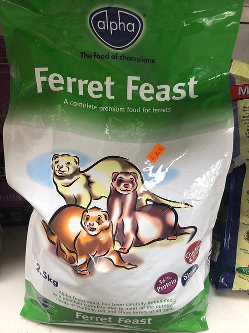 Ferret feast 2.5kg