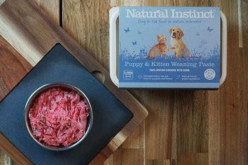 Natural instinct  Puppy & Kitten Weaning Paste1kg