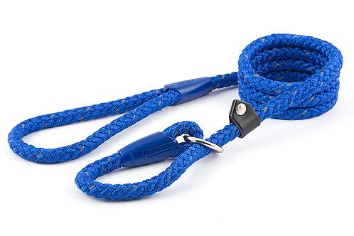 Ancol Rope slip lead ref blue