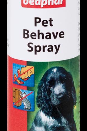 Pet behave spray