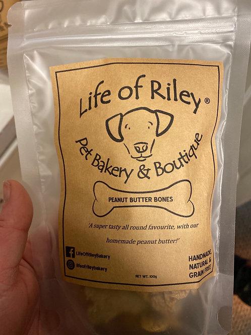 Life of riley 100g peanut butter bones