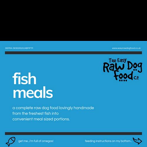 Easy Raw Dog - Fish meals, chicken bone 80/10/10