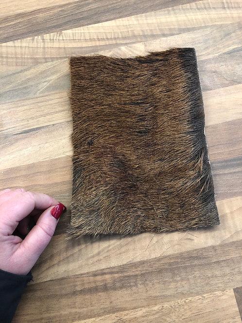Venison bark with fur