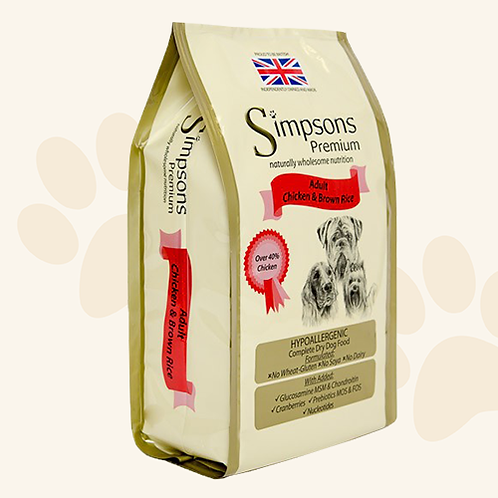 Simpsons Chicken & Rice 12kg