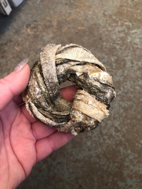 Fish skin donut