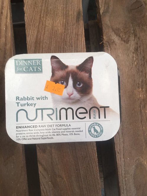 Nutriment Cat Food - Rabbit with Turkey 175g