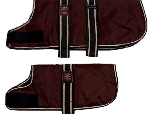 Animate padded coat brown
