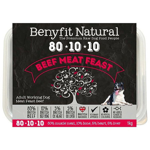 Benyfit Natural - Beef Meat Feast 80.10.10