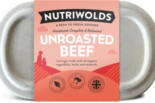 Nutriwolds - Unroasted Beef 1kg (chunky)