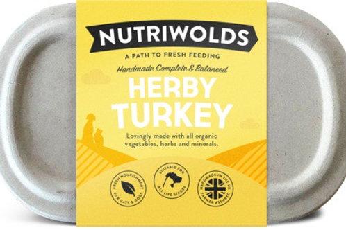Nutriwolds - Herby Turkey 1kg (chunky)