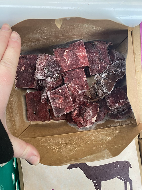 Nurture them naturally - Venison Chunks 1kg
