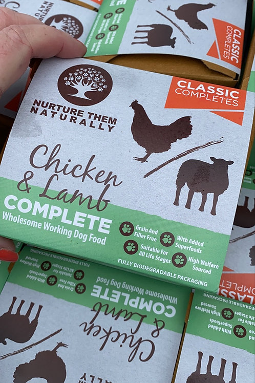 Nurture them naturally - Chicken and Lamb complete 500g