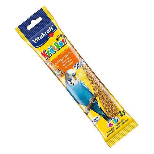Vitakraft Budgie Kracker Sticks with Honey and Sesame 2pcs
