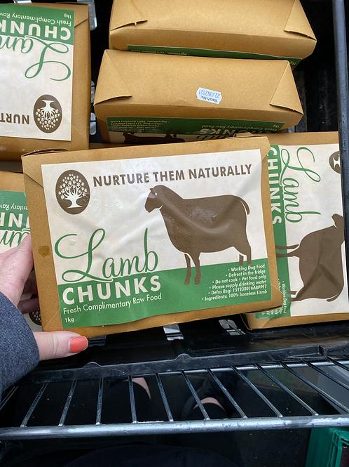 Nurture them naturally - Lamb Chunks 1kg