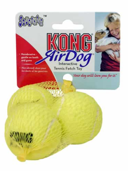 Kong tennis ball small 3 pack