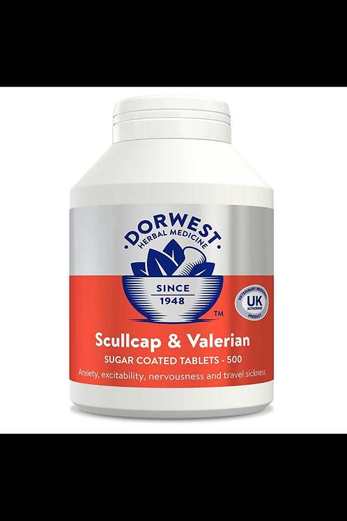 Dorwest scullcap & valerian tablets 100