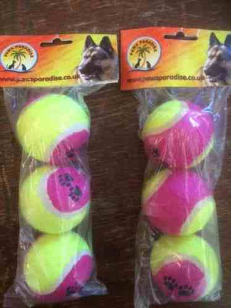 1 pack of 3 Quality Tennis Balls
