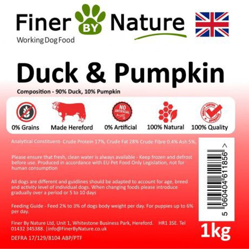 Finer by nature - Duck and Pumpkin