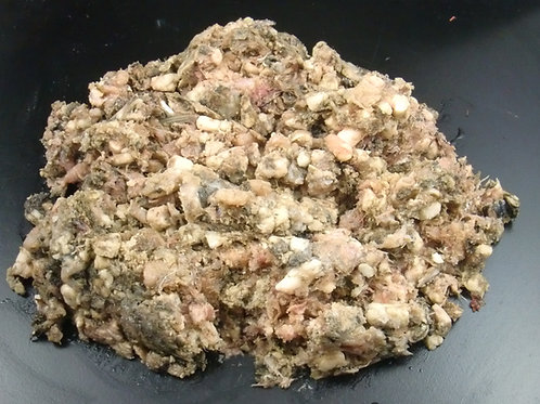 The Dogs Butcher - Tripe & Oily Fish (approx 5% bone) 1kg