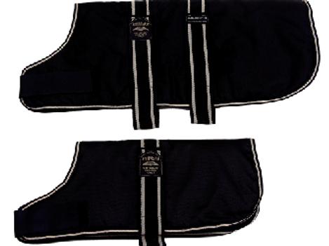 Animate padded coat black