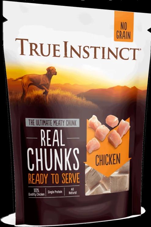True Instinct Freeze-Dried Real Chunks Chicken Dog Treats 200g