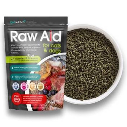 Raw Aid for Cats & Dogs
