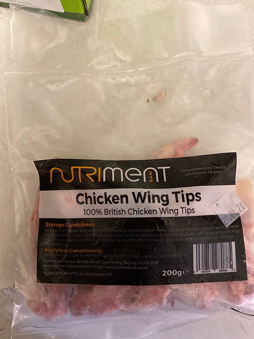 Nutriment chicken wing tips 200g