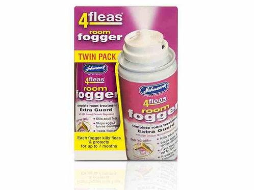 4 fleas room fogger, twin pack