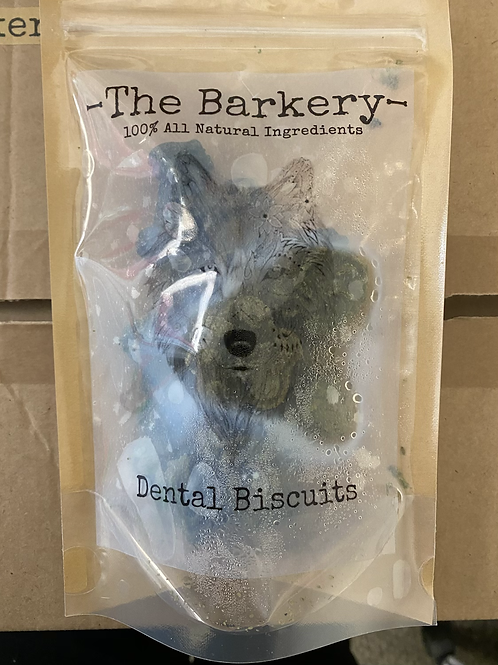 The Barkery - Dental biscuits 100g FROZEN
